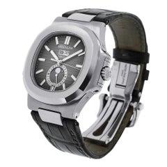 Certified Patek Philippe Nautilus 5726 Men's Stainless Steel Watch 5726A-001
