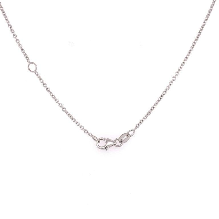Women's Certified Pear Shaped Diamond Pendant Necklace