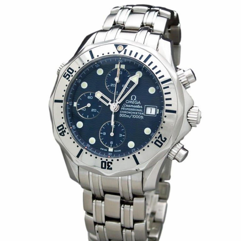 Certified Pre-Owned Omega Seamaster Professional 2598.80 Auto RG113 For Sale