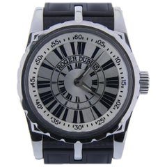 Certified, Roger Dubuis Sympathie S43 with Band and Silver Dial