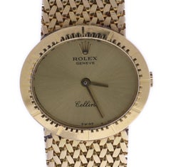 Certified Rolex Cellini 4081 Champagne Dial