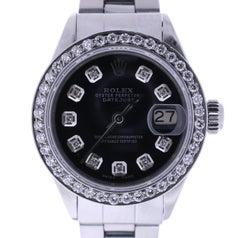 Certified Rolex Date 6916 Black Dial