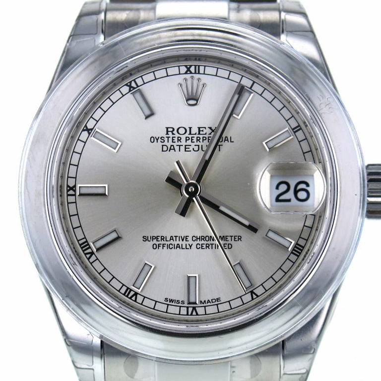 Rolex Datejust Reference #:78240. Offered for sale is this Rolex Datejust 116234 in pristine condition with a 1 year warranty from Accar. We've been in business almost 30 years in Downtown Miami, FL and guarantee both the authenticity of the watch