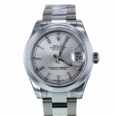 Certified Rolex Datejust 178240 2013 Stainless Steel Women's