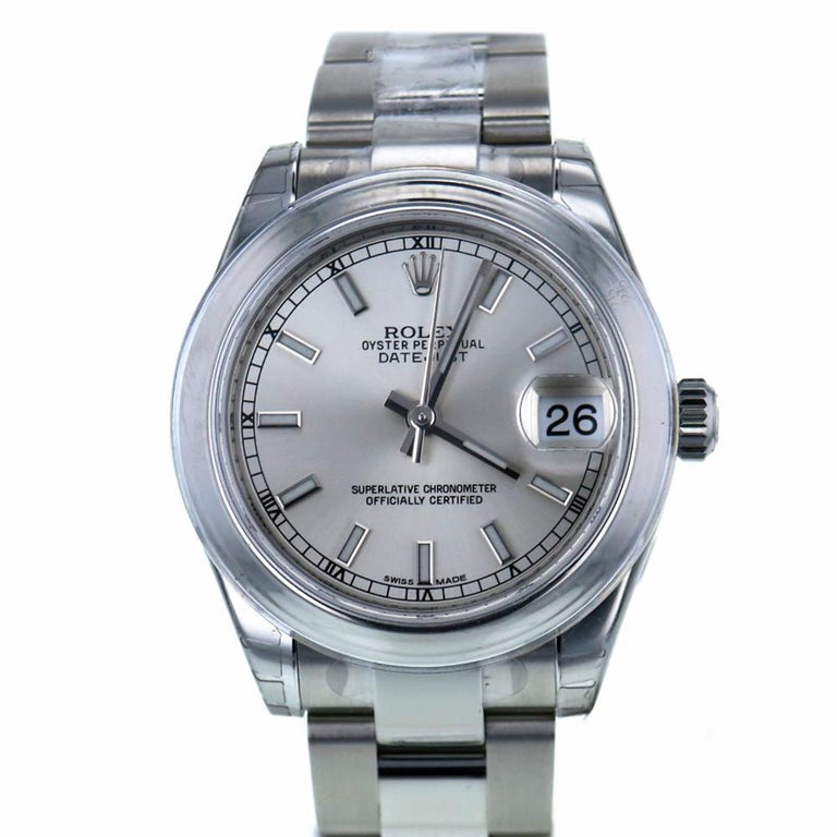 Certified Rolex Datejust 178240 2013 Stainless Steel Women's For Sale