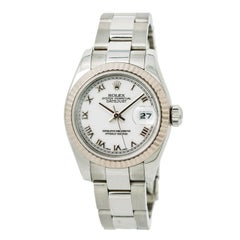 Certified Rolex Datejust 179174 Women's Automatic Watch White Dial SS