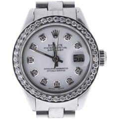 Certified Rolex Datejust 6916 White Dial