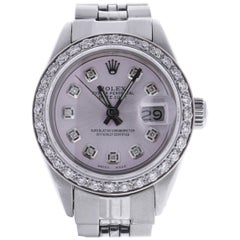 Certified Rolex Datejust 6917 Pink Dial