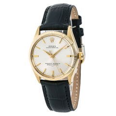 Certified: Rolex Oyster perpetual Automatic Watch Duncan Foods Co. Engraved 18K