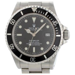 Certified Rolex Sea-Dweller 16600 with Band and Black Dial