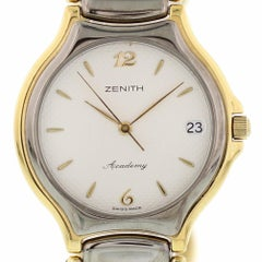 Certified Zenith Academy, Stainless Steel Bezel and Off-White Dial