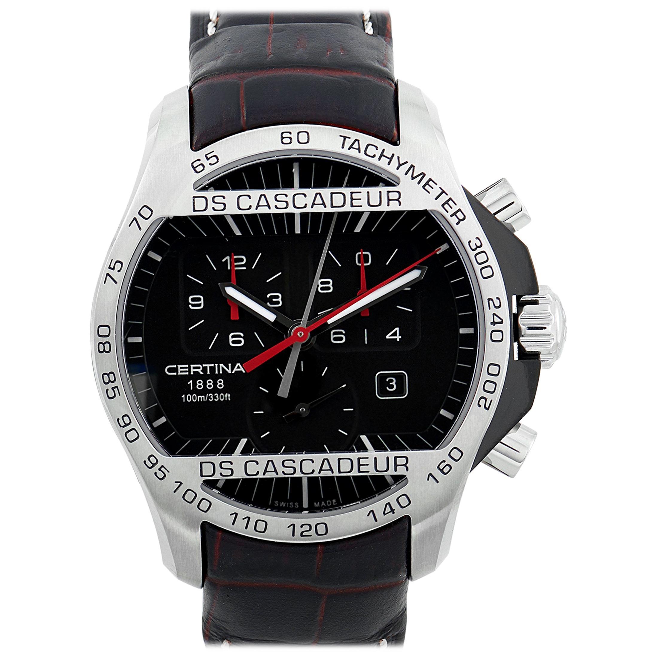 Certina DS Cascadeur Chronograph Men's Watch C003.617.26.050.00