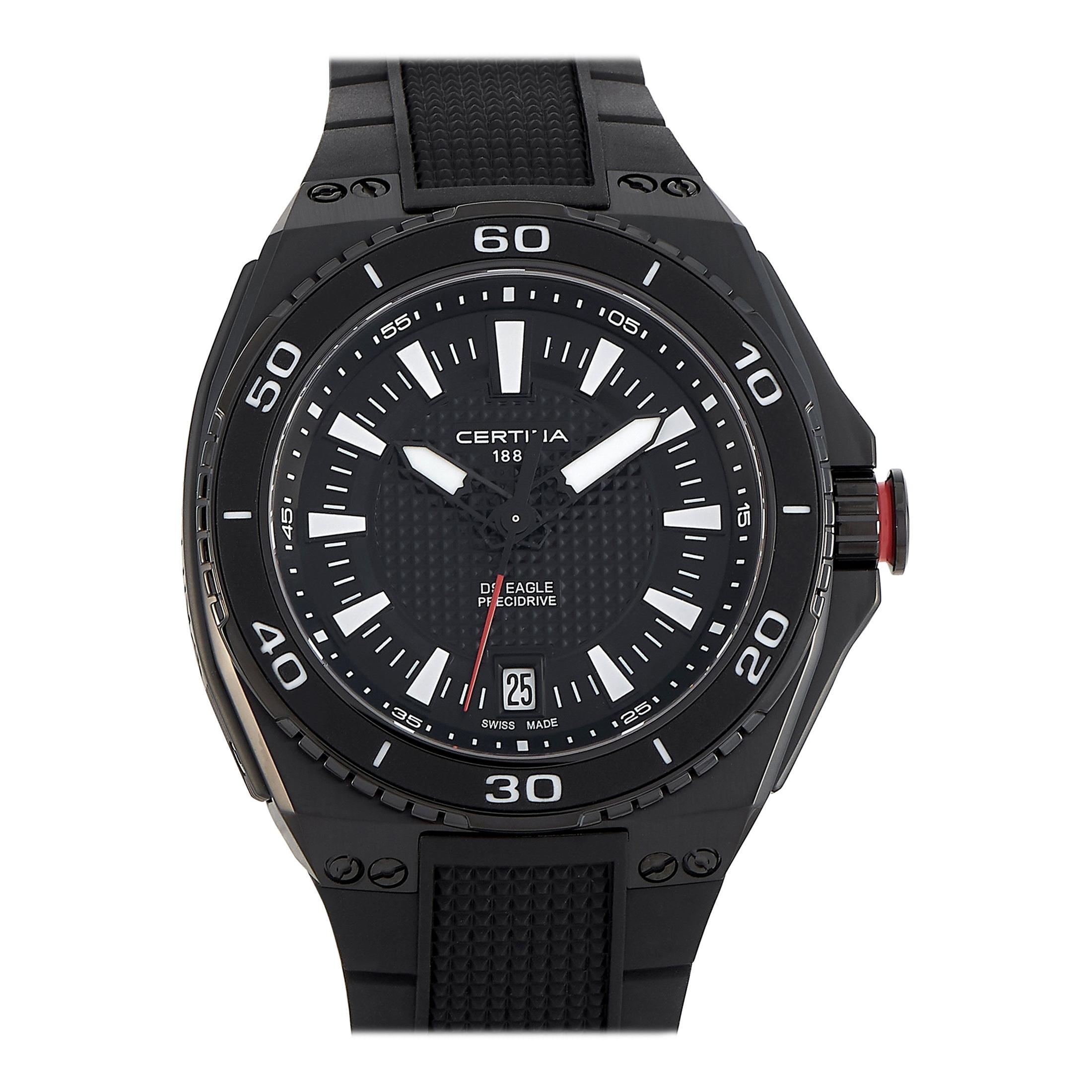 Certina DS Eagle Black Dial Men's Quartz Watch C023.710.17.051.00