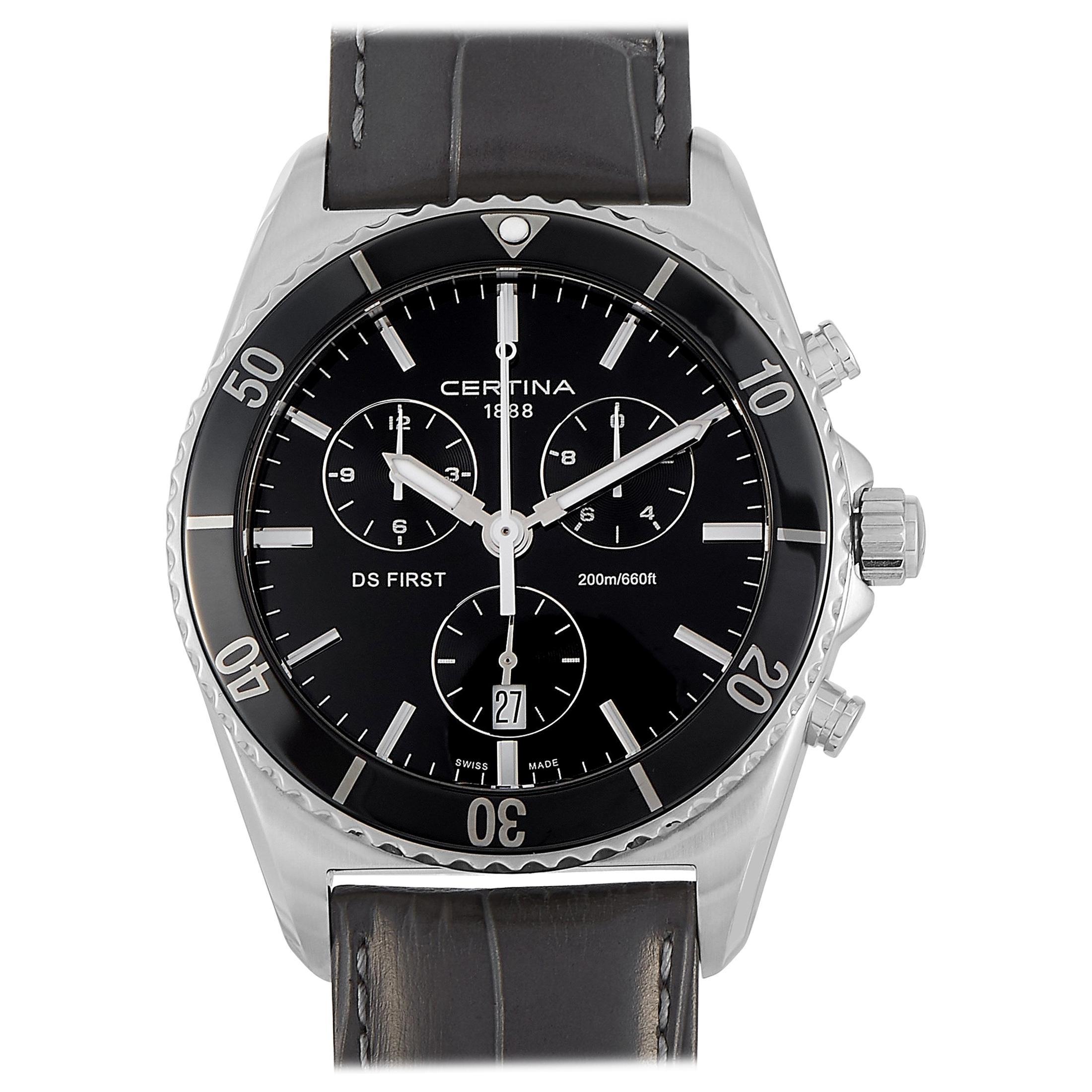 Certina DS First Ceramic Chronograph Men's Watch C014.417.16.051.00