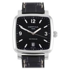 Certina DS Podium Black Dial Black Dial Ladies Watch C025.510.16.057.00