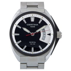 Certina DS Royal Quartz Black Dial Men's Watch C010.410.11.051.00