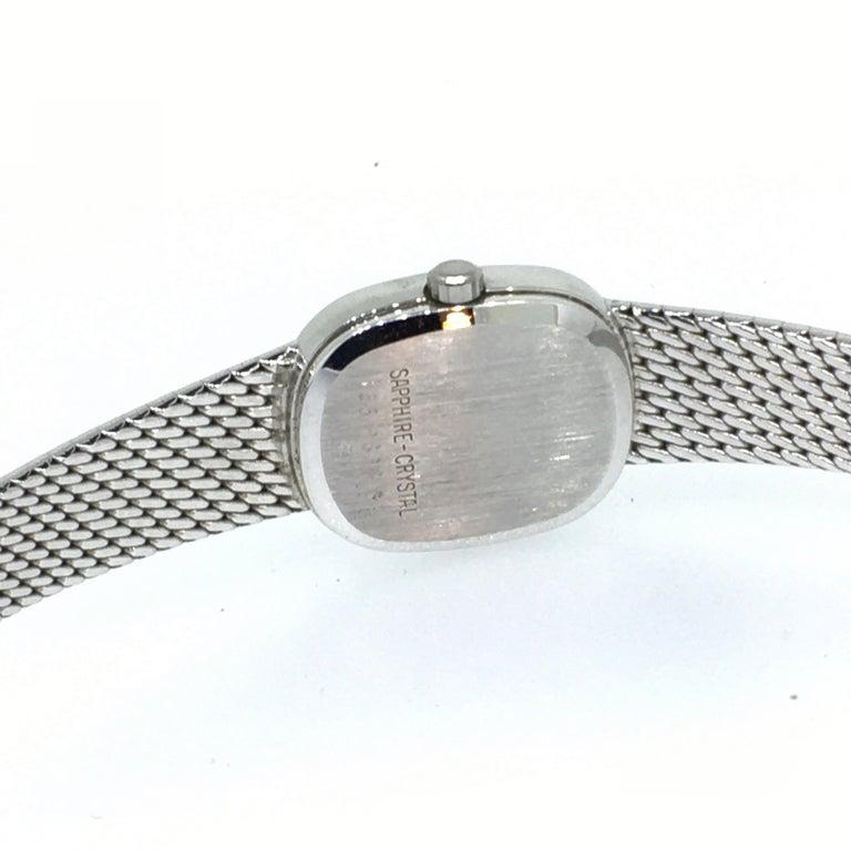 Watch, White Gold, Diamonds, Lady, Certina, Bracelet Watch, Vintage, 1983 3