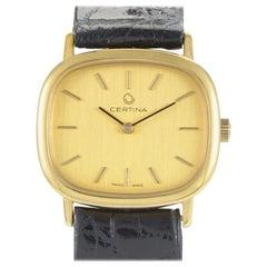 Certina Women's Yellow Gold Quartz Watch 5014019