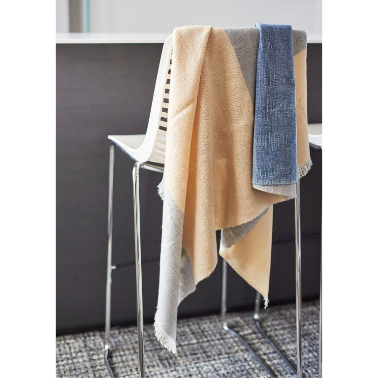 Contemporary CERU Handloom Throw / Blanket For Sale