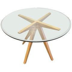 Cerused Oak Center Table