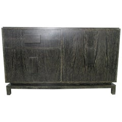 Cerused Oak Sideboard in the Manner of Jean Michel Frank
