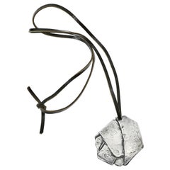 Cesar Compression Pendant, Sterling Silver