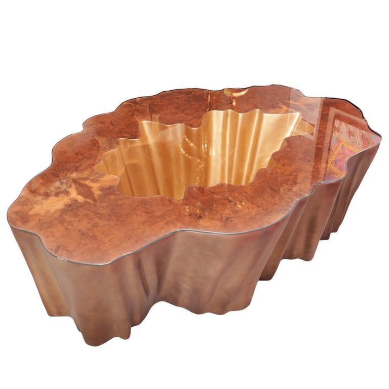 Cesar Gold Coffee Table For Sale