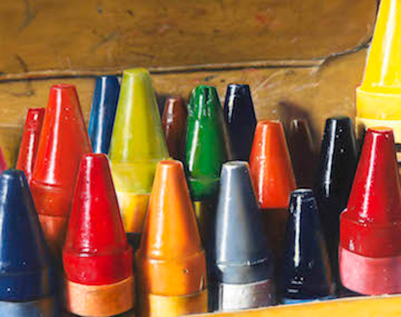 17 Crayons #1/30