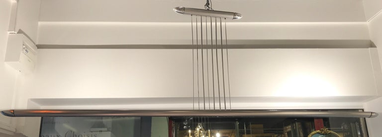 Mid-Century Modern Cesar Putzeys Ceiling Lamp from 1969 For Sale