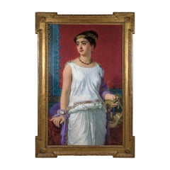A Fine Portrait of a Young Grecian Beauty
