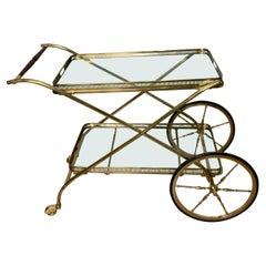 Cesare Lacca Brass Trolley