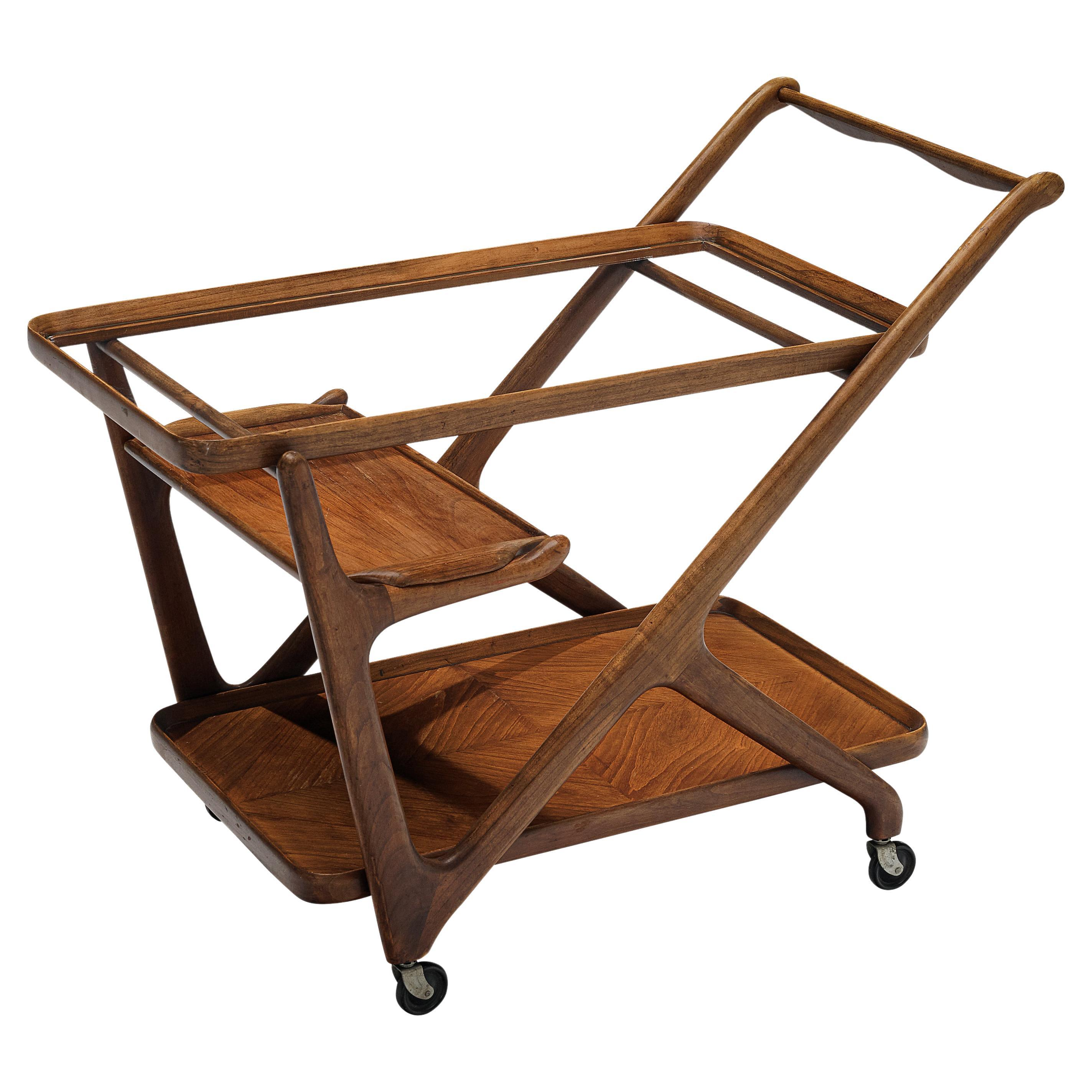 Cesare Lacca for Cassina Bar Cart or Serving Trolley