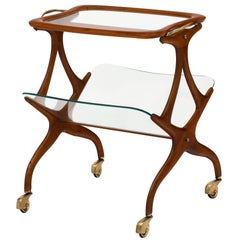 Cesare Lacca Italian Modernist Magazine/Bar Cart