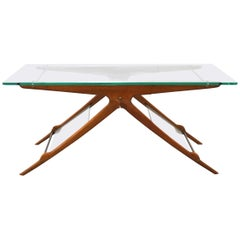 Cesare Lacca Midcentury Italian Coffee Table, 1950s