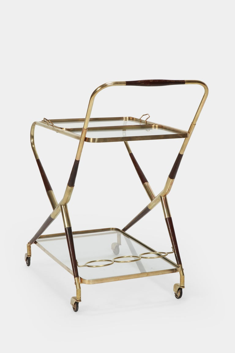 Cesare Lacca Serving Trolley, 1950s 3