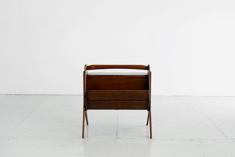 Mahogany Ico Parisi attributed Side Tables For Sale