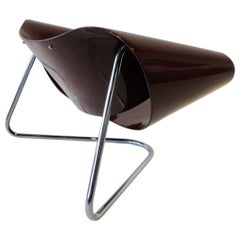Cesare Leonardi Franca Staga Post Modern Ribbon Chair Fiarm, Italy