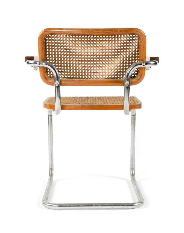 Cesca Armchair by Marcel Breuer For Sale at 1stdibs