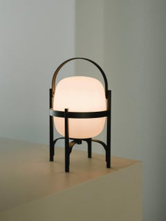 Cestita Alubut Table Lamp by Miguel Milá for Santa & Cole