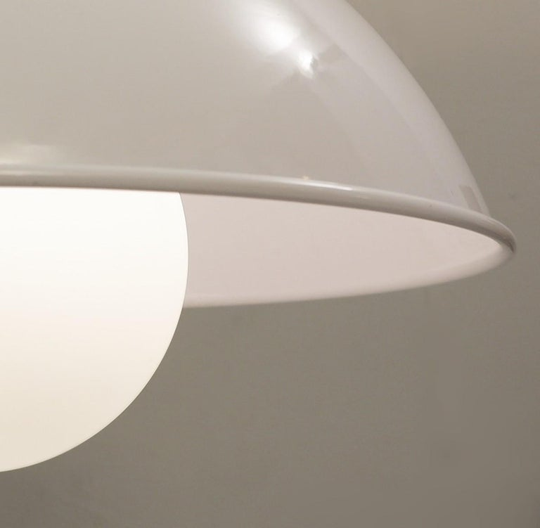 Mid-Century Modern 'Cetra' Hanging Lamp by Vico Magistretti for Artemide, 1960s For Sale