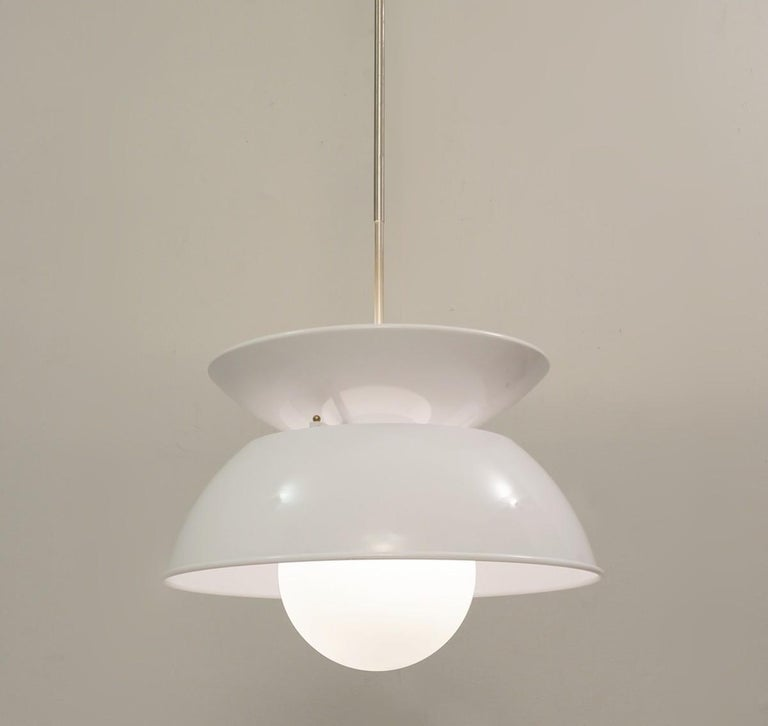 'Cetra' Hanging Lamp by Vico Magistretti for Artemide, 1960s For Sale 1