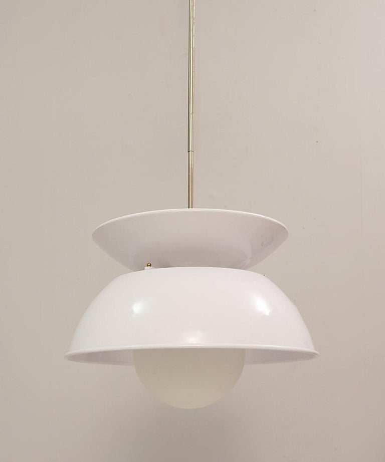 'Cetra' Hanging Lamp by Vico Magistretti for Artemide, 1960s For Sale 2