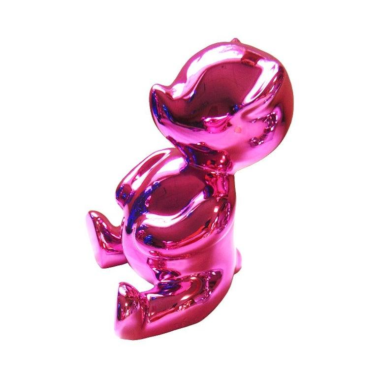 Cévé, Chubby Pink - Sculpture by Cévé