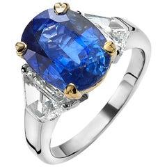 Ceylon Sapphire Ring Van der Veken