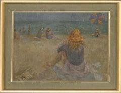C.H. Bagnoli - Contemporary Oil, Sunny Beach Day
