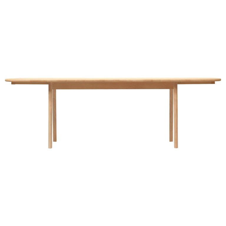 For Sale: Brown (Beech Oil) CH006 Large Dining Table in Wood Finish by Hans J. Wegner
