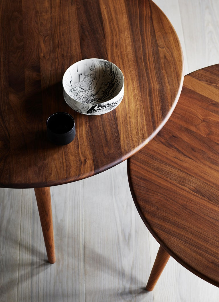 CH008 Large Coffee Table in Wood by Hans J. Wegner For Sale 8