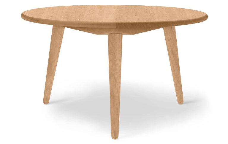 For Sale: Brown (Oak Oil) CH008 Large Coffee Table in Wood by Hans J. Wegner