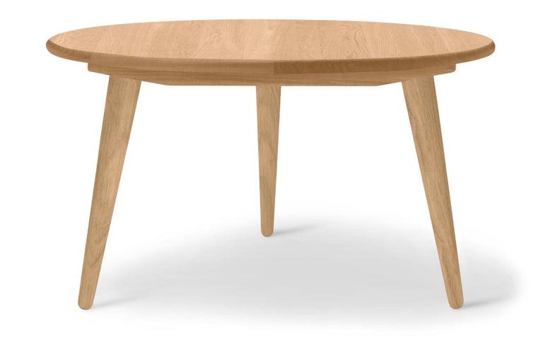 For Sale: Brown (Oak Oil) CH008 Large Coffee Table in Wood by Hans J. Wegner 2