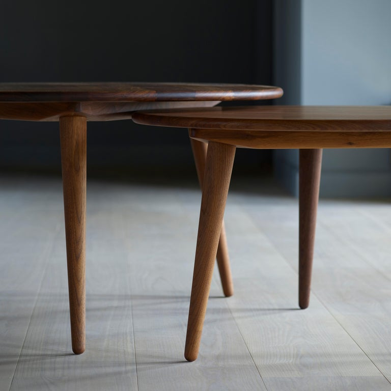 CH008 Small Coffee Table in Wood by Hans J. Wegner For Sale 9